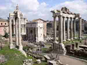 Image of Roman forum: en.wikipedia.org